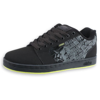 boty ETNIES - Metal Mulisha - Barge - BLACK/LIME, METAL MULISHA