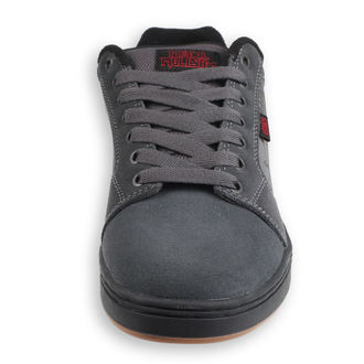 boty ETNIES - Metal Mulisha - Barge - DARK GREY/BLACK/RED, METAL MULISHA