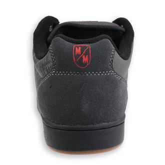 boty ETNIES - Metal Mulisha - Barge - DARK GREY/BLACK/RED