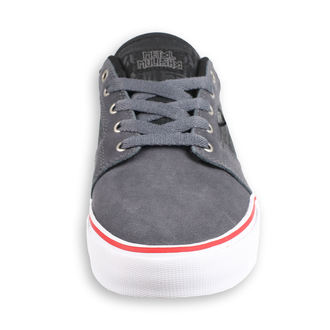 boty ETNIES - Metal Mulisha - Barge - GREY/BLACK/WHITE, METAL MULISHA