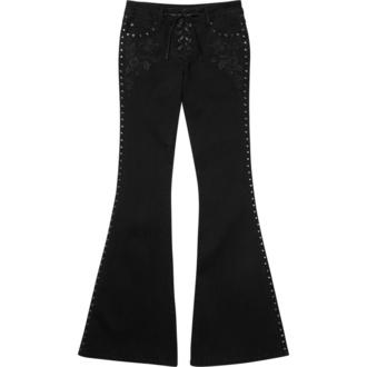kalhoty dámské KILLSTAR - Evanora Flares - KSRA000888
