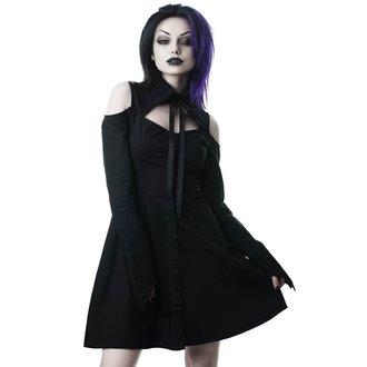 košilové šaty KILLSTAR - Exorcista - BLACK, KILLSTAR