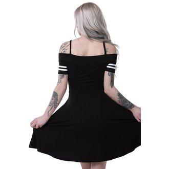 šaty dámské KILLSTAR - EXPECTATIONS BARDOT - BLACK, KILLSTAR