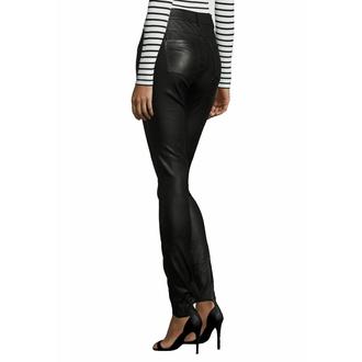kalhoty dámské kožené - GW SNVV - Black, NNM