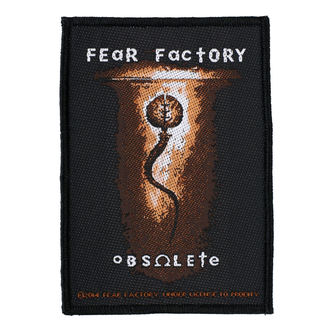 nášivka FEAR FACTORY - OBSOLETE - RAZAMATAZ, RAZAMATAZ, Fear Factory