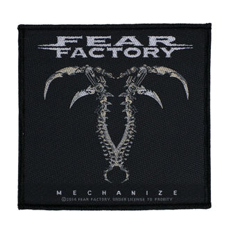 nášivka FEAR FACTORY - MECHANIZE - RAZAMATAZ, RAZAMATAZ, Fear Factory