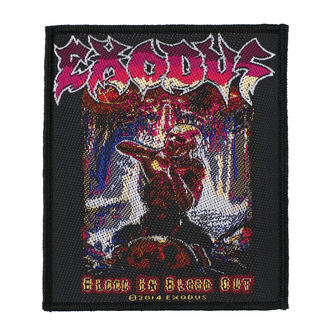 nášivka EXODUS - BLOOD IN BLOOD OUT - RAZAMATAZ, RAZAMATAZ, Exodus