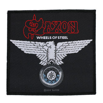 nášivka SAXON - WHEELS OF STEEL - RAZAMATAZ - SP2787