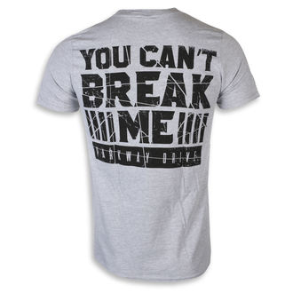 tričko pánské Parkway Drive - You Can't Break Me - KINGS ROAD - Sport Grey - 20121984