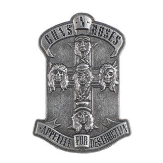 připínáček Guns N' Roses - Appetite - RAZAMATAZ, RAZAMATAZ, Guns N' Roses