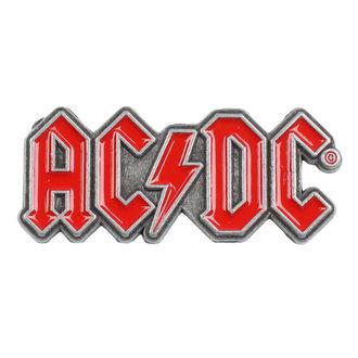 připínáček AC/DC - Red Logo - RAZAMATAZ - PB001