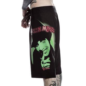 kraťasy pánské (plavky) KILLSTAR - Marilyn Manson - Fiend - Black, KILLSTAR, Marilyn Manson