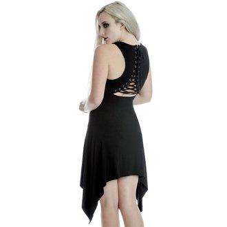 šaty dámské (tunika) KILLSTAR - Fly - BLACK, KILLSTAR