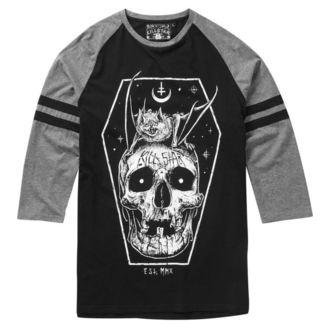tričko pánské s 3/4 rukávem KILLSTAR - Fly- BLACK