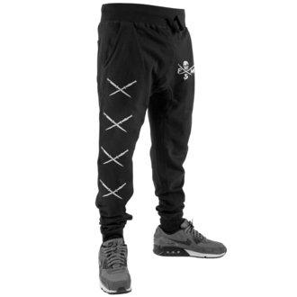 kalhoty pánské (tepláky) FAMOUS STARS & STRAPS - STICK IT SWEAT - BLACK, FAMOUS STARS & STRAPS