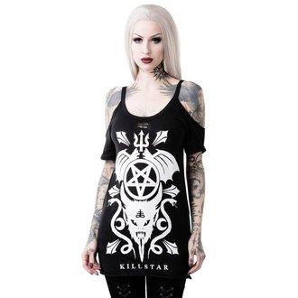 tričko dámské (tunika) KILLSTAR - FOLKLORE - BLACK, KILLSTAR