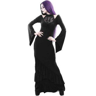 šaty dámské KILLSTAR - FOREVER FADES FISHTAIL - BLACK, KILLSTAR
