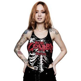 tílko dámské KILLSTAR - ROB ZOMBIE - Foxy Bones Rocker - BLACK, KILLSTAR, Rob Zombie