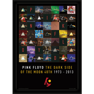 obraz Pink Floyd - (Dark Side Of The Moon 40th Anniversary) - PYRAMID POSTERS, PYRAMID POSTERS, Pink Floyd