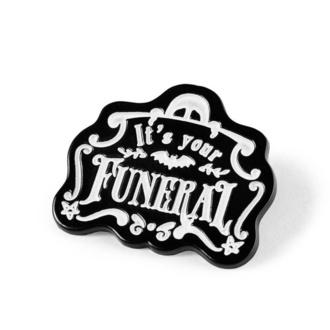 připínáček KILLSTAR - Funeral Enamel, KILLSTAR
