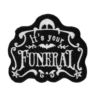 nažehlovačka (nášivka) KILLSTAR - Funeral, KILLSTAR