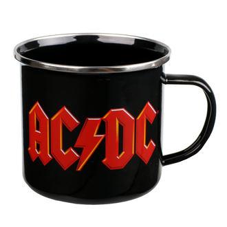 hrnek (plecháček) AC/DC - Logo, AC-DC