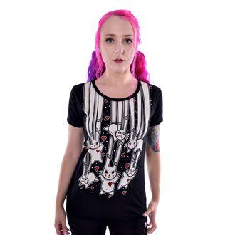 tričko dámské Cupcake cult - FALLING BUNNIES - BLACK - POI783
