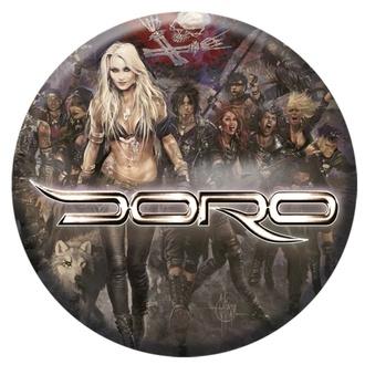 placka DORO - Forever warriors - NUCLEAR BLAST, NUCLEAR BLAST, Doro
