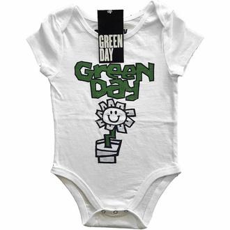 body dětské Green Day - Flower Pot - WHT - ROCK OFF, ROCK OFF, Green Day