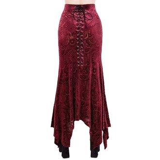 sukně dámská KILLSTAR - Genesis - WINE, KILLSTAR