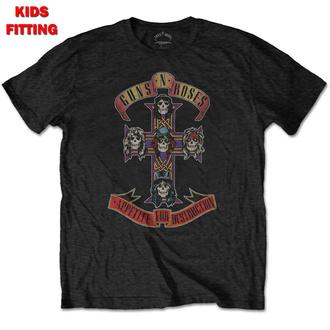 tričko dětské Guns N' Roses - Appetite For Destruction - ROCK OFF, ROCK OFF, Guns N' Roses