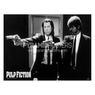 plakát - Pulp Fiction (B&W Guns) - GPP51003, PYRAMID POSTERS, Pulp Fiction