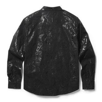 košile pánská KILLSTAR - GRAVE BOY - BLACK, KILLSTAR