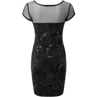 šaty dámské KILLSTAR - GRAVE - BLACK