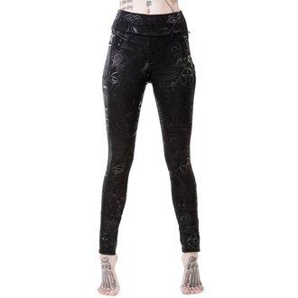 kalhoty dámské (legíny) KILLSTAR - GRAVE - BLACK, KILLSTAR