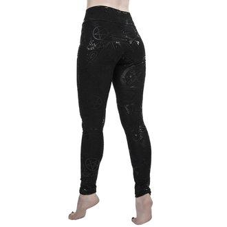kalhoty dámské (legíny) KILLSTAR - GRAVE - BLACK