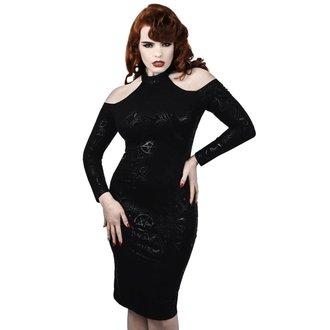 šaty dámské KILLSTAR - GRAVE GIRL HALTER - BLACK, KILLSTAR