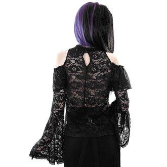 tričko dámské s dlouhým rukávem (halenka) KILLSTAR - GRETA MAIDEN - BLACK, KILLSTAR