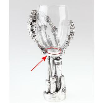 sklenička Terminator 2 - B1457D5 - POŠKOZENÁ, NNM