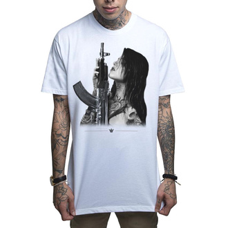 tričko pánské MAFIOSO - GUN PLAY - WHT, MAFIOSO