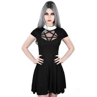 šaty dámské KILLSTAR - HADES SKATER - BLACK, KILLSTAR