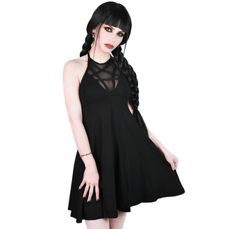šaty dámské KILLSTAR - Hades Sun - BLACK - KSRA001689