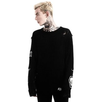 svetr (unisex) KILLSTAR - Haight You Knit - Black, KILLSTAR