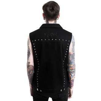 vesta (unisex) KILLSTAR - HELLCORE - BLACK, KILLSTAR