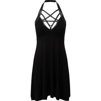 šaty dámské KILLSTAR - Harness Ur Power Sun - BLACK - KSRA001685