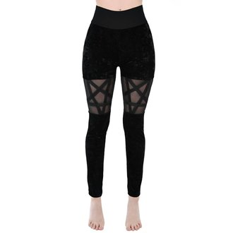 kalhoty dámské (legíny) KILLSTAR - HELLION - BLACK - KSRA000052