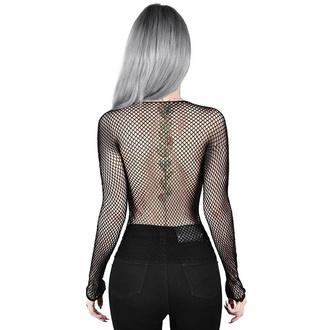 tričko dámské s dlouhým rukávem KILLSTAR - Hellrazor - BLACK, KILLSTAR