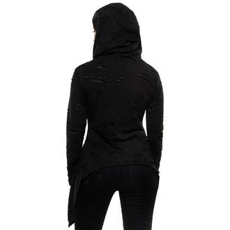 mikina dámská KILLSTAR - Hex Hooded - Black, KILLSTAR