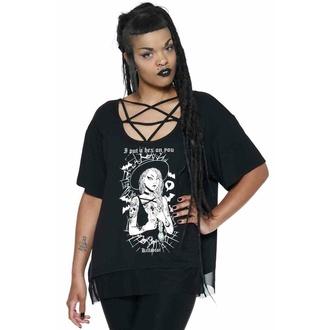 tričko dámské KILLSTAR - Hex Pentagram - Black, KILLSTAR