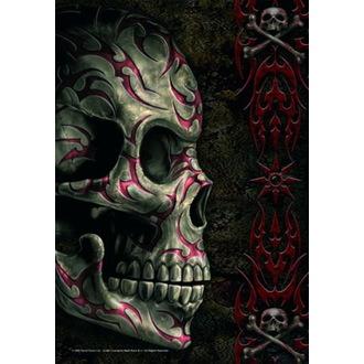 vlajka Spiral - Tatoo Skull, SPIRAL